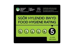 5 star rating badge for food hygiene